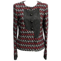 Womens Designer Chanel Tweed Jacket