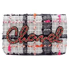 WOMENS DESIGNER Chanel Tweed Wallet On Chain