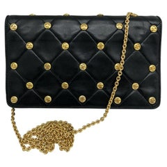 WOMENS DESIGNER Chanel Vintage CC Studs Shoulder Bag