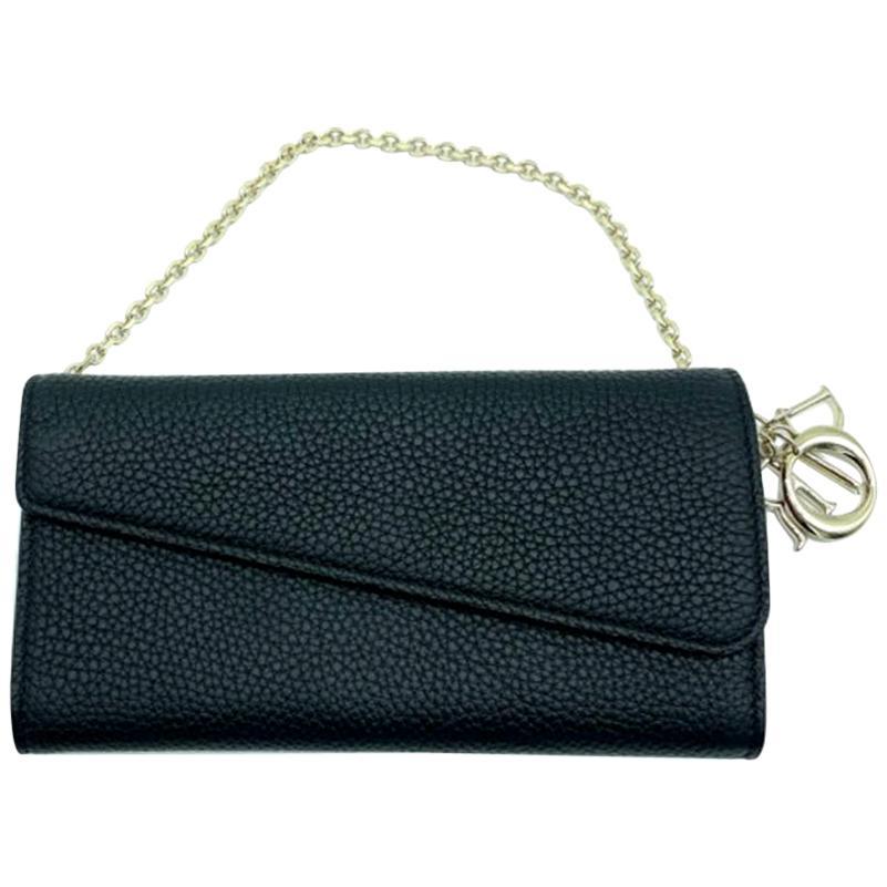 WOMENS DESIGNER Dior Diorissimo Recontre Wallet on Chain