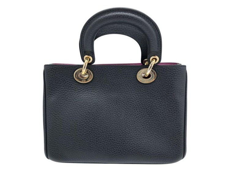 WOMENS DESIGNER Dior Mini Diorissimo Tote In Good Condition For Sale In London, GB