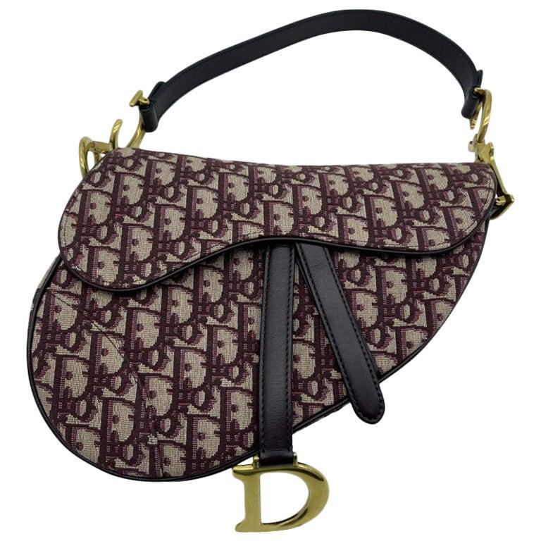WOMENS DESIGNER Dior Saddle Bag Oblique