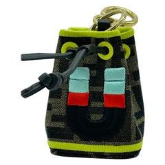 WOMENS DESIGNER Fendi Mon Tresor Micro Bucket Bag Charm - U