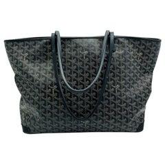 Womens Designer Goyard Artois Tote MM - Black