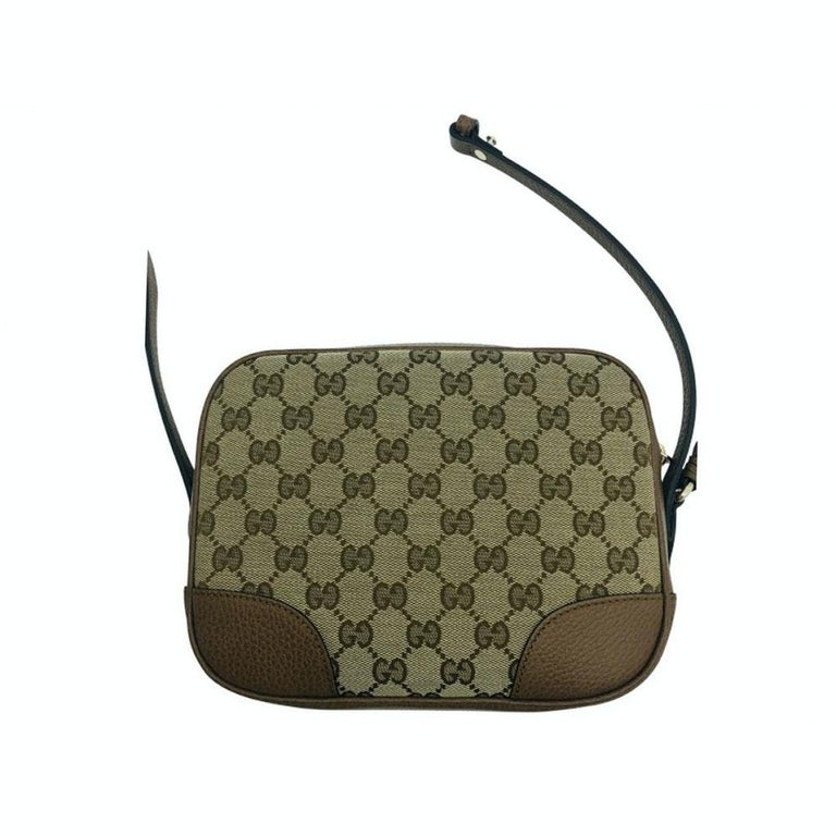 Womens Designer Gucci Bree Original GG Canvas Messenger bag In New Condition For Sale In London, GB