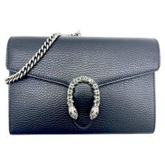 Womens Designer Gucci Dionysus Mini Chain Bag