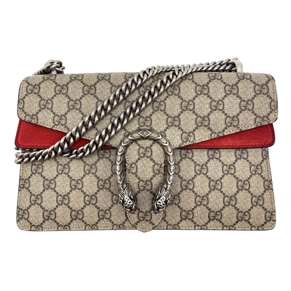 WOMENS DESIGNER Gucci Dionysus Small GG Shoulder Bag