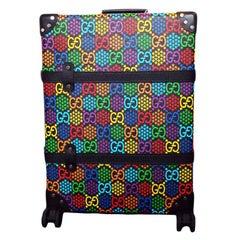WOMENS DESIGNER Gucci GG Psychedelic Medium Suitcase