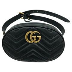 Womens Designer Gucci Marmont Matelassé Belt Bag - 85