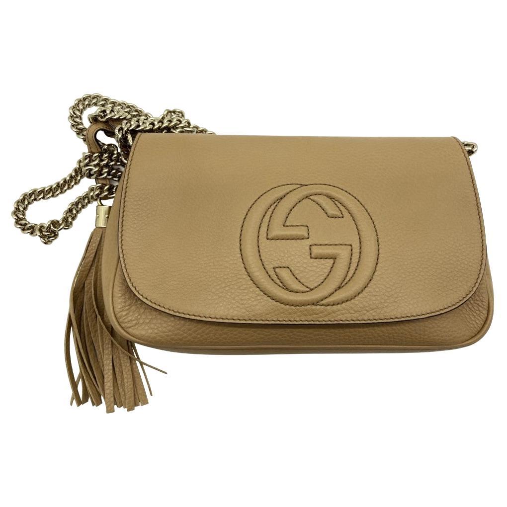 WOMENS DESIGNER Gucci Medium Soho Chain Shoulder Bag