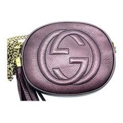 WOMENS DESIGNER Gucci Mini Soho Disco Chain Shoulder Bag