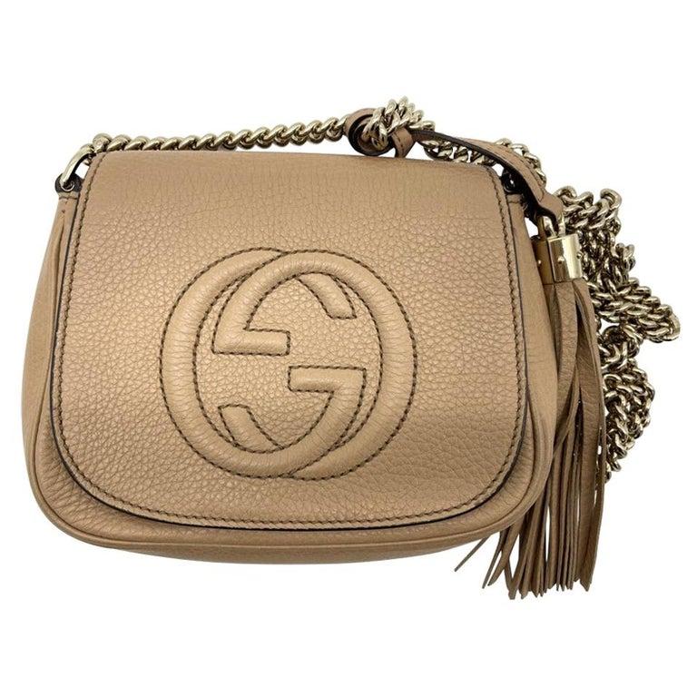 WOMENS DESIGNER Gucci Small Soho Chain Shoulder Bag For Sale