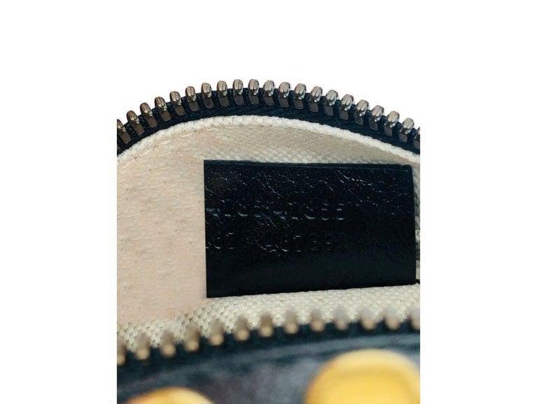 Womens Designer Gucci Studded Mini Tifosa Baseball - Black For Sale 1