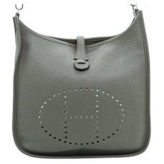 WOMENS DESIGNER Hermes Evelyne III 29 Bag Grey