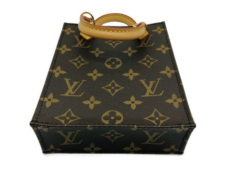 Women's Womens Designer Louis Vuitton Petit Sac Plat - Mono For Sale
