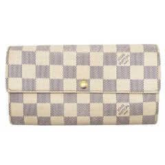 WOMENS DESIGNER Louis Vuitton Sarah Wallet – Azure