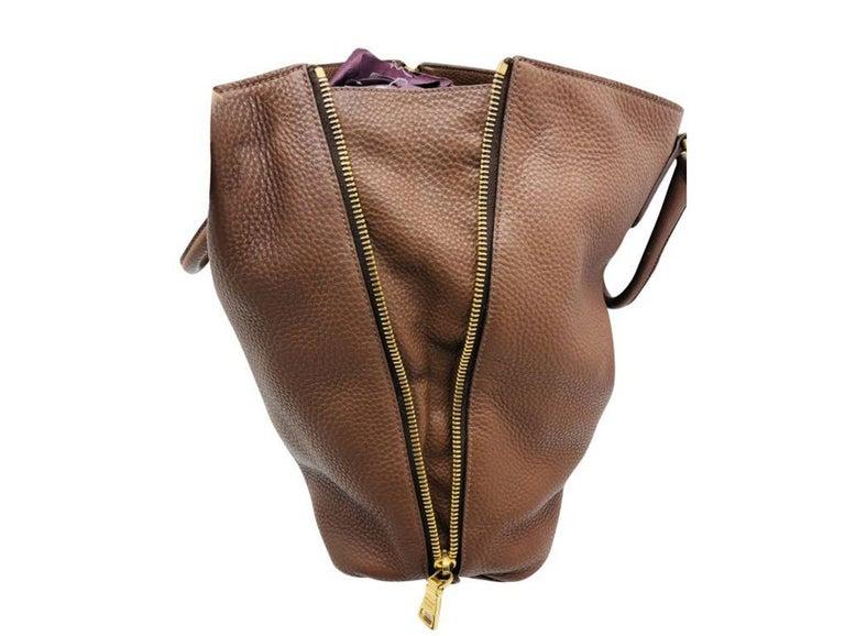 Womens Designer Prada Side Zip Tote Bag In Good Condition In London, GB