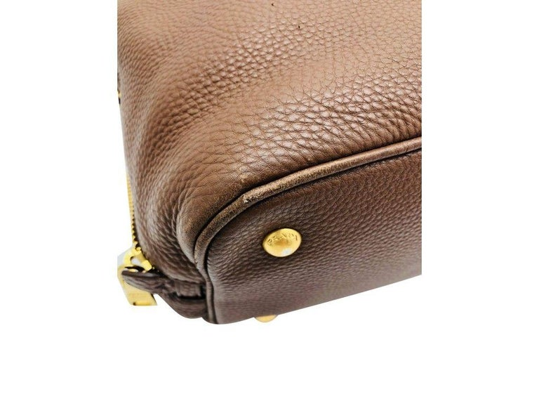 Womens Designer Prada Side Zip Tote Bag 1