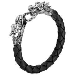 Women's Legends Naga Silver Dragon Bracelet BB65089BLXM