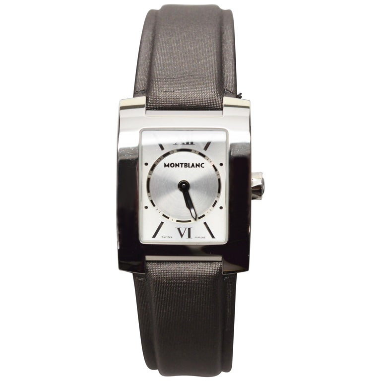 Womens Montblanc Stainless Steel Profile Wristwatch For Sale