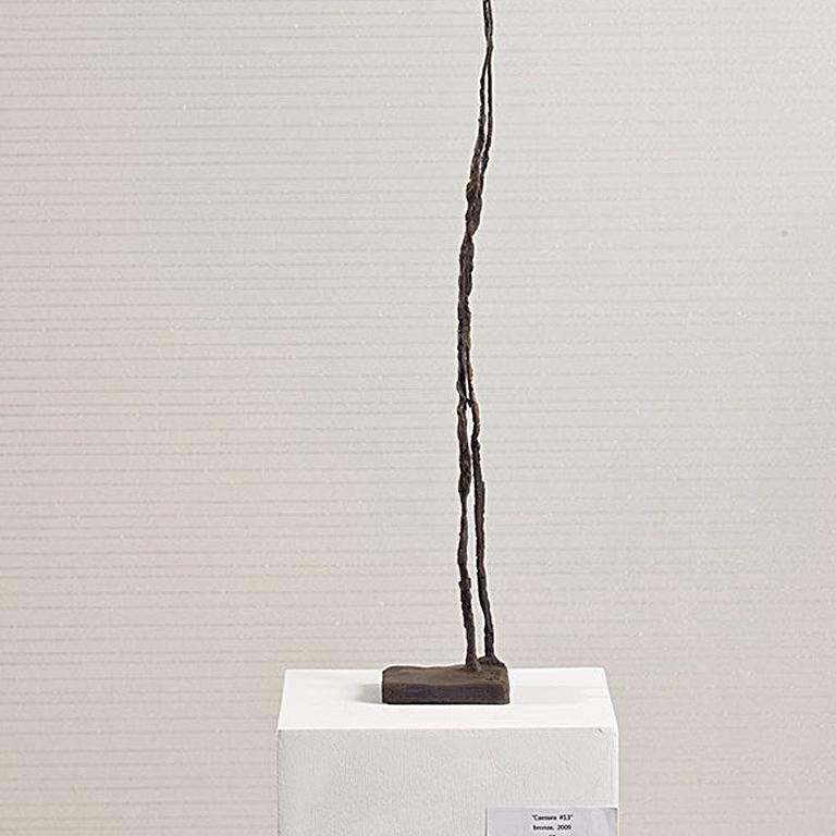 Caesura #13 - Gold Figurative Sculpture by Won Lee