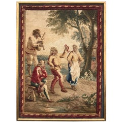 Wonderful 18th Century Little Aubusson Tapestry