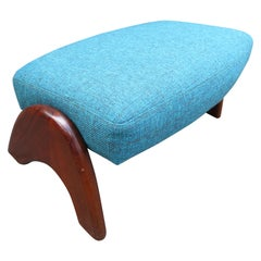 Wonderful Adrian Pearsall Ottoman for Crescent Lounge Chair Mid-Century Modern