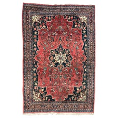 Wonderful Antique Bijar Rug