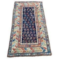 Wonderful Antique Caucasian Kazak Rug