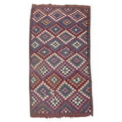 Wonderful Antique Caucasian Kilim