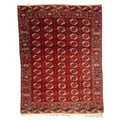 Wonderful Antique Fine Exceptional Tekke Boukhara Rug