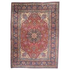 Wonderful Antique Fine Tabriz Rug