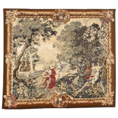 Wonderful Antique French Aubusson Tapestry