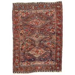 Wonderful Antique Ghashghai Rug