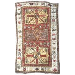 Wonderful Antique Kazak Design Turkish Rug