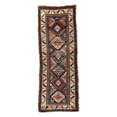 Wonderful Antique Kazak Runner