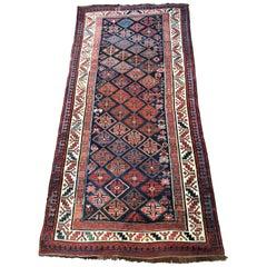 Wonderful Antique Long Caucasian Rug