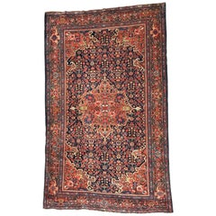 Wonderful Antique Sarogh Farahan Rug