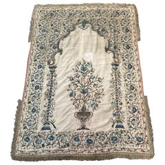 Wonderful Antique Turkish Ottoman Embroidery