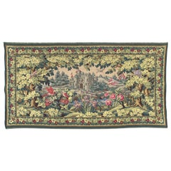 Wonderful Aubusson Style French Jaquar Tapestry