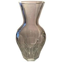 Wonderful Baccarat Harcourt Medium Baluster Signed Crystal Vase