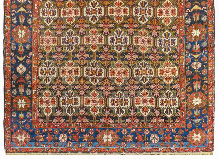 Bakshaish Wonderful Bakhtiari Rug For Sale