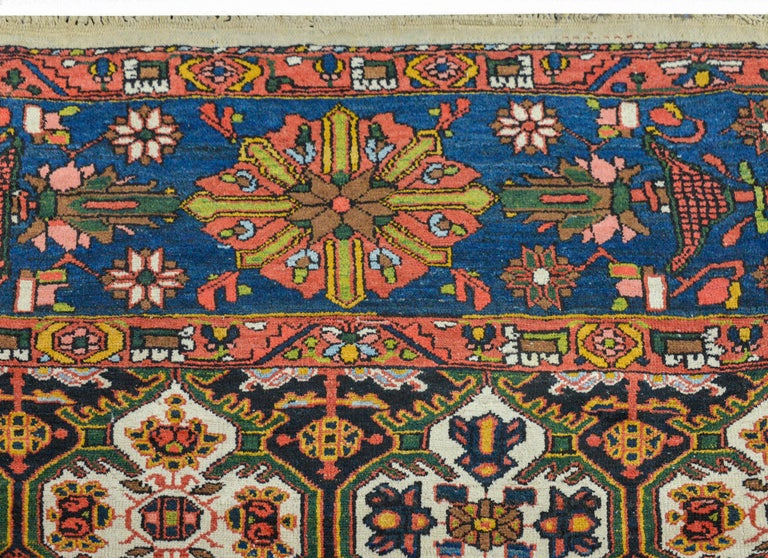 20th Century Wonderful Bakhtiari Rug For Sale