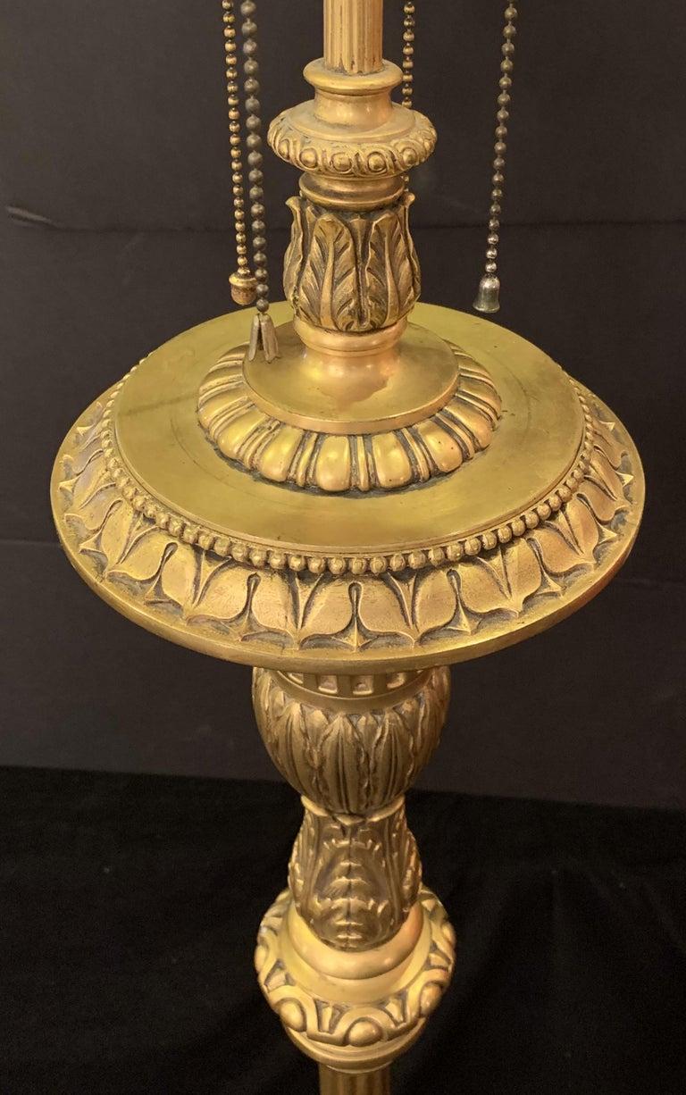 Wonderful Caldwell French Gilt Urn Form Filigree Regency