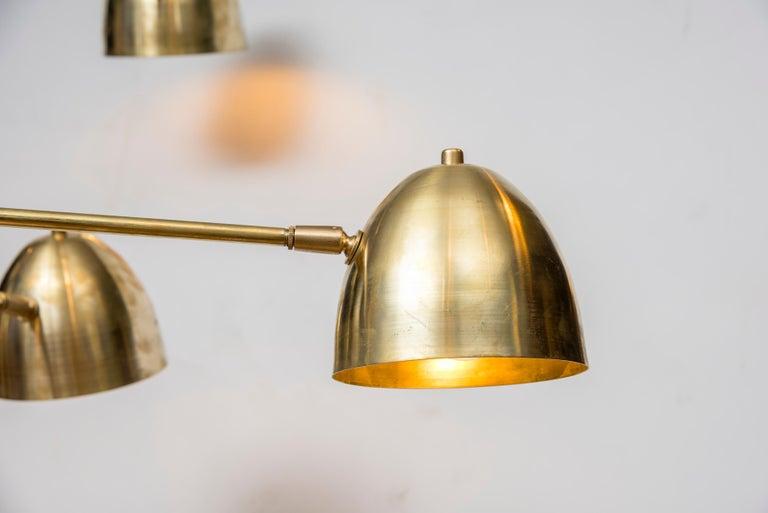Mid-Century Modern Wonderful Chandelier by Studio Glustin For Sale
