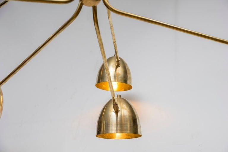 French Wonderful Chandelier by Studio Glustin For Sale