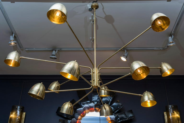 Contemporary Wonderful Chandelier by Studio Glustin For Sale