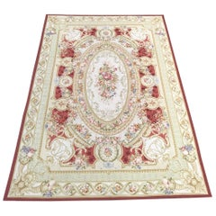 Wonderful Contemporary Large Aubusson Style Rug