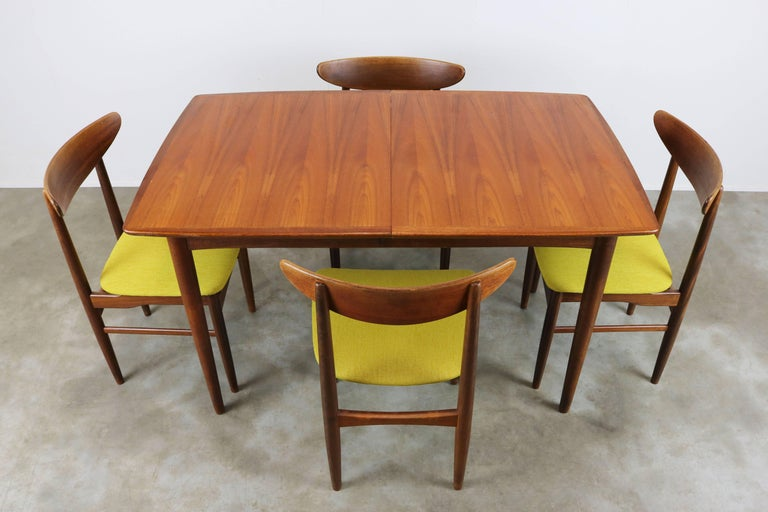 Mid Century Modern Wonderful Danish Design Dining Room Set Designed By Dyrlund In Teak 1950s