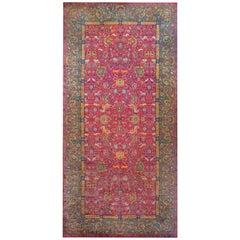 Wonderful Early 20th Century Agra Rug